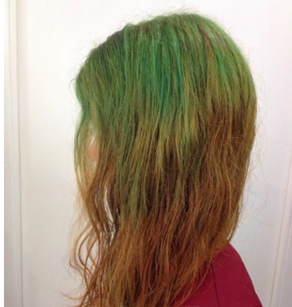 arreglo pelo verde